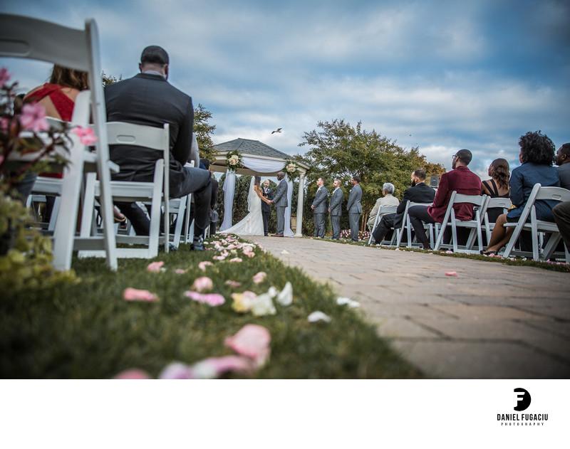 Penn Oaks Golf Club wedding photography