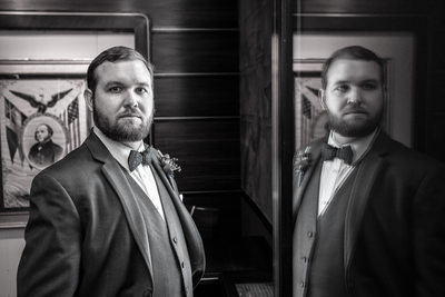 American Swedish museum wedding photographer