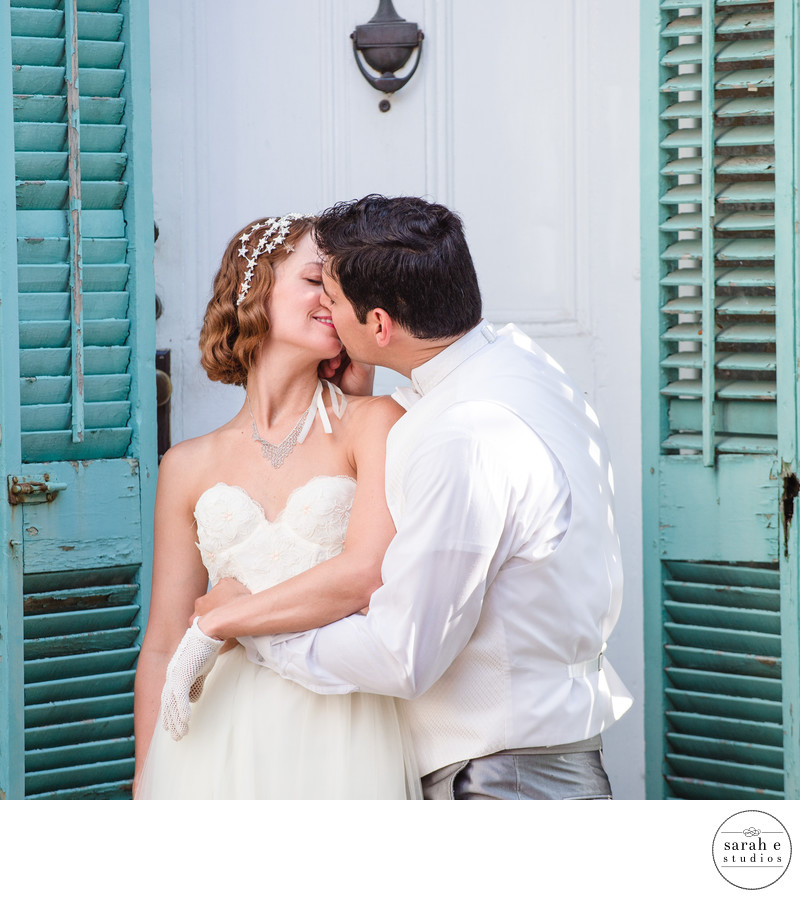 St. Louis Lemp Mansion Bridal Portrait