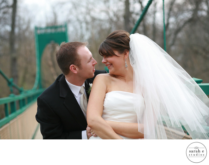 First Look Wedding Photographer in St. Louis