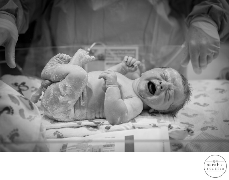 Newborn Baby Birth Story Photographer