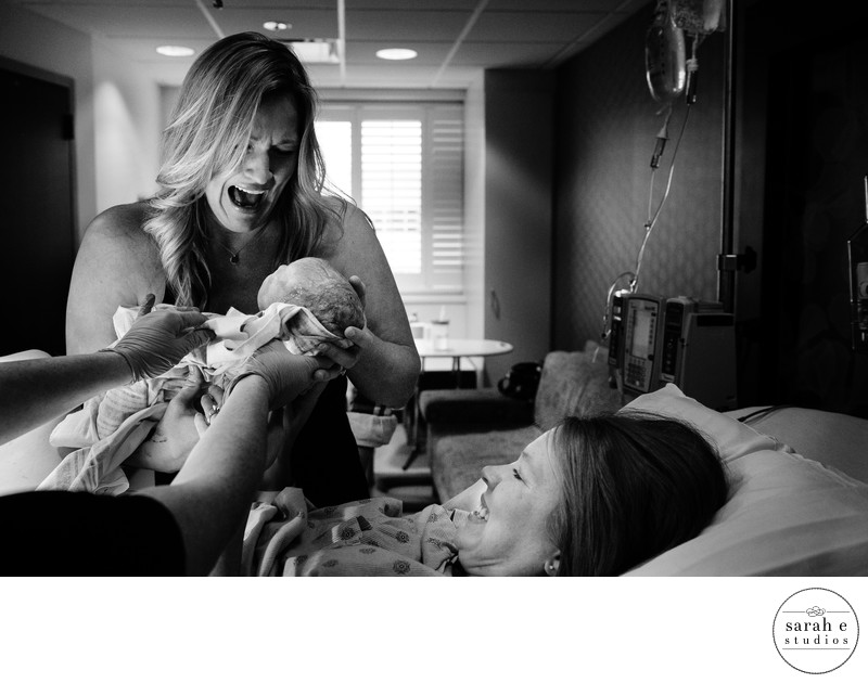 Greatest Birth Photographer of Surrogate Birth Story