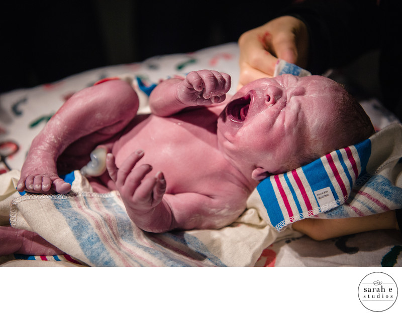 Hospital Newborn Photography in Chesterfield MO