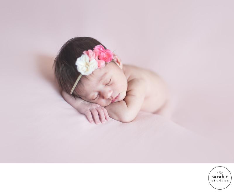 Sweet Newborn Photos in St. Louis