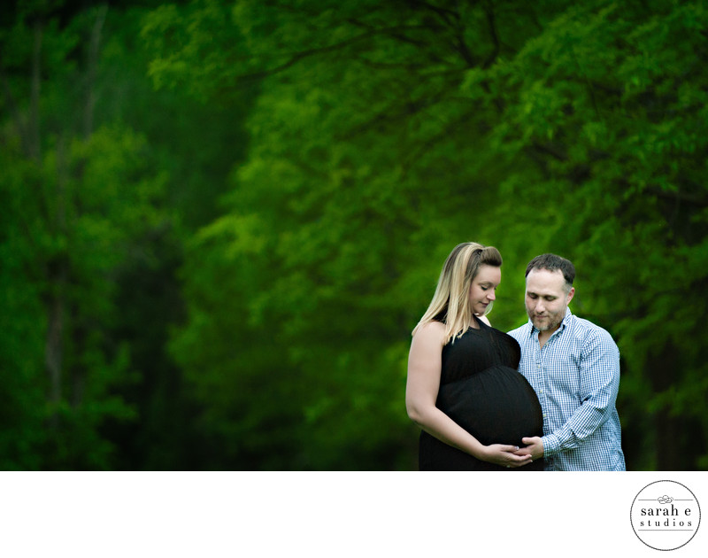 Maternity Photos at Creve Coeur Park