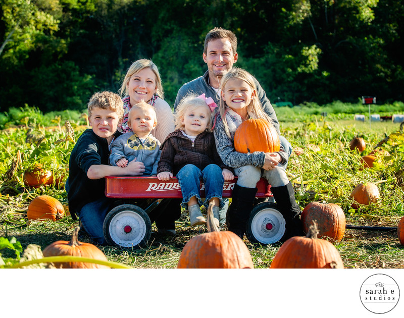 Fall Family Portrait Photographer in St. Louis