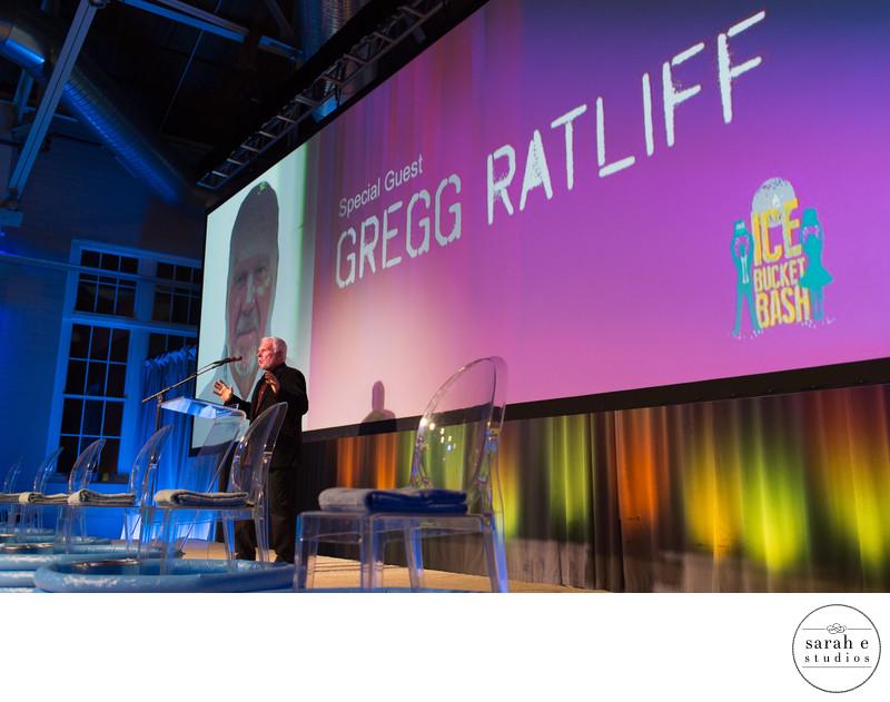 Gregg Ratliff Keynote at Ice Bucket Bash