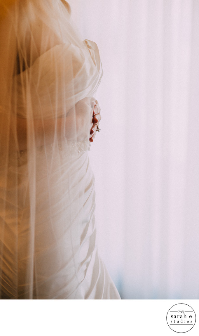 Bridal Portrait Getting Ready in St. Louis