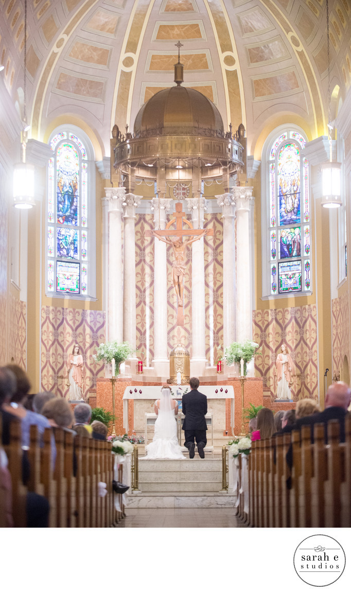 St. Ambrose Church Wedding Photographer