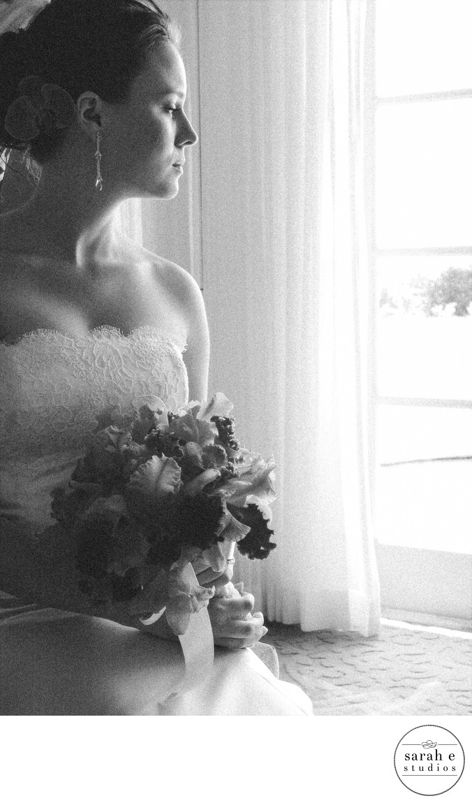 Vera Wang Bridal Gown in St. Louis Wedding