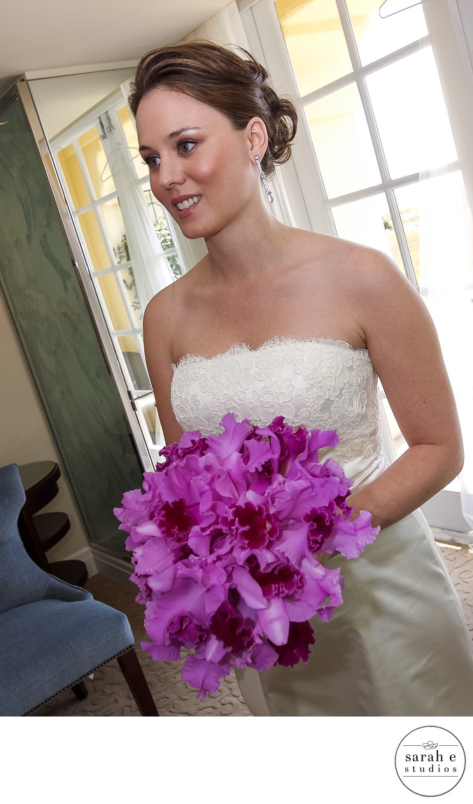 St. Louis Wedding Photographer of Orchids