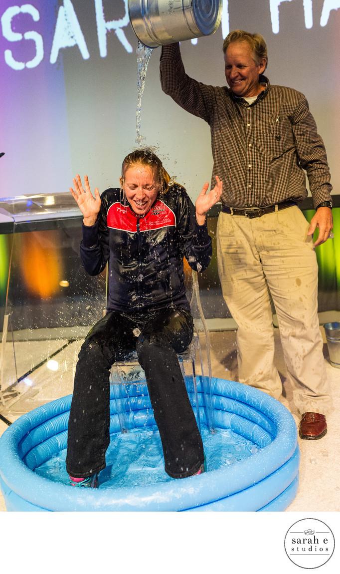 Sarah Haskins ALS Ice Bucket Challenge