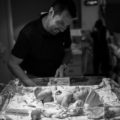 St. Louis Photographer Capturing Dad First Look