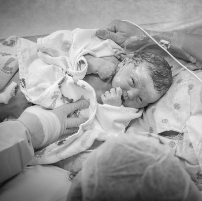 Birth Story C-Section St. Louis