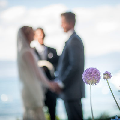 Fine Art Wedding Photographer at Lake Setting
