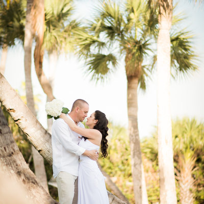 Sanibel Florida beach wedding vacation photographer