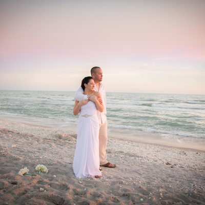 Sanibel Florida beach sunset wedding best photographer