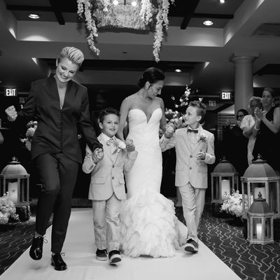 Seagate country club lesbian wedding Delray photographer