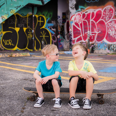 brothers family photography wynwood walls miami