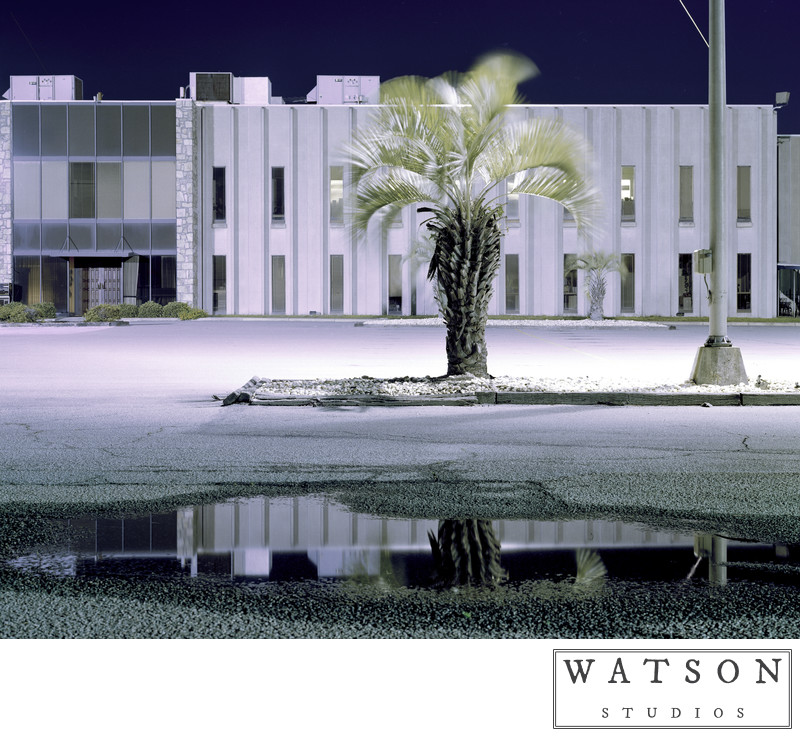Night Photos of Industrial Landscapes in the South