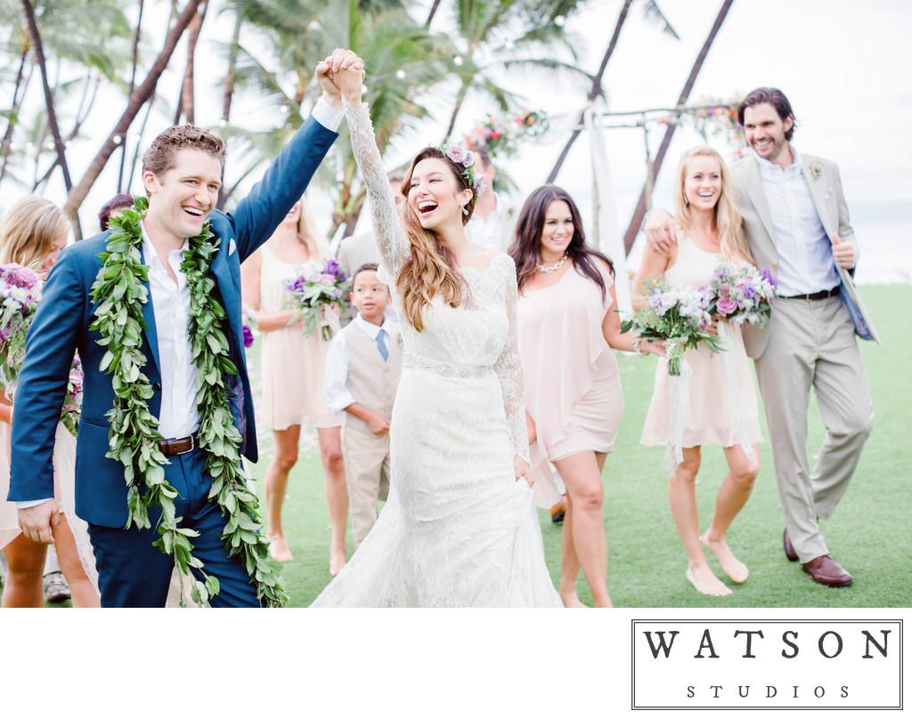 Matthew Morrison Wedding Photos