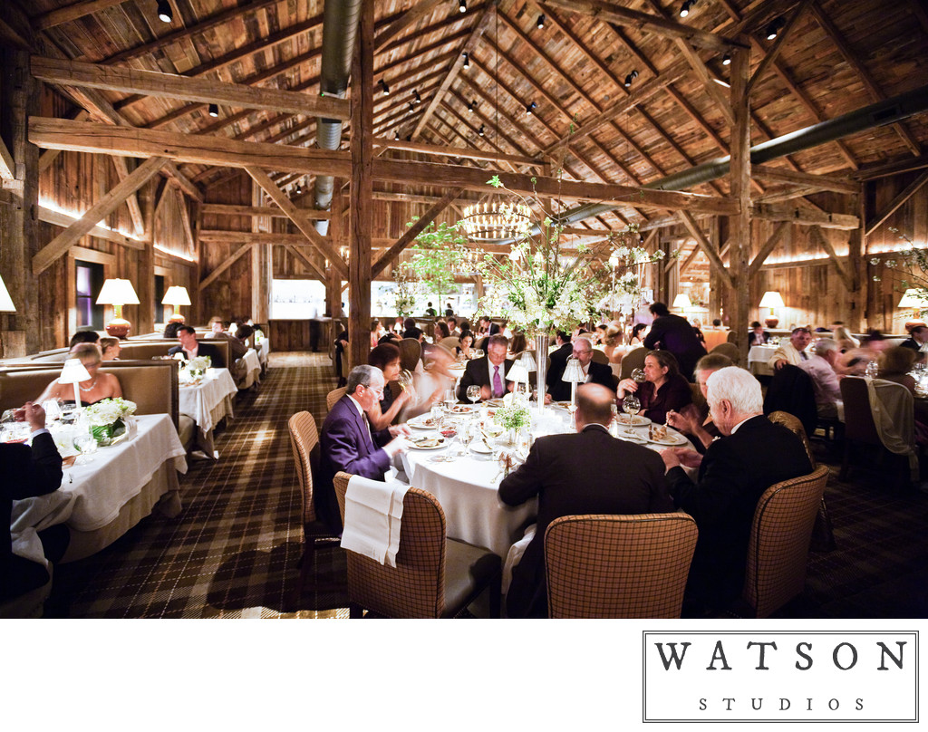 Wedding Receptions at Blackberry Farm