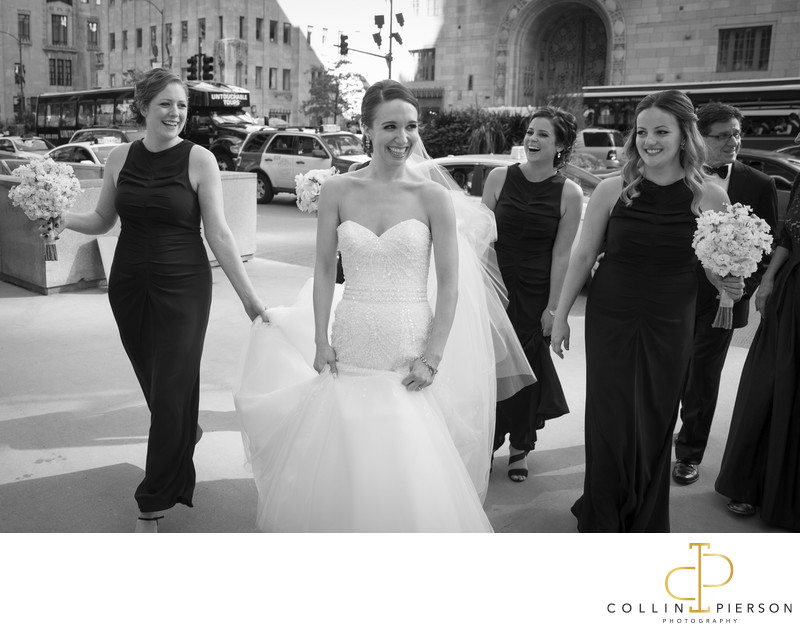 Emily Hudson and Matt Puglisi Intercontinental Hotel Magnificent Mile Chicago Wedding