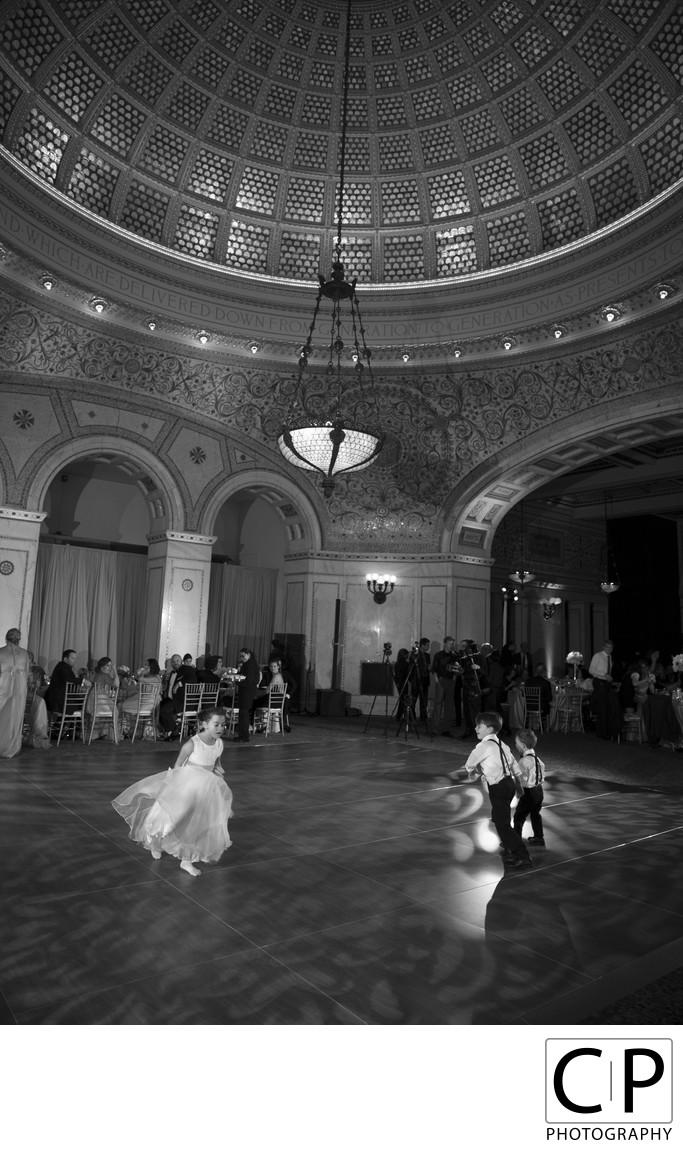 Laura Langer and John Ballou Chicago Cultural Center Wedding