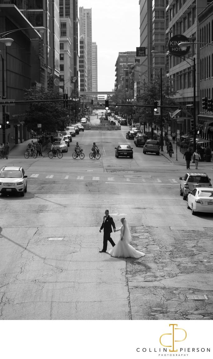 Kelly Jarzynski & Marc Levin Langham Chicago Wedding