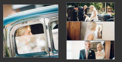 Bryllupsfotograf smuk brud