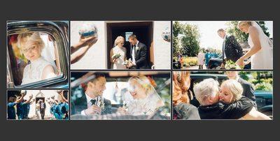 Bryllupsfotograf - tillykke med brylluppet