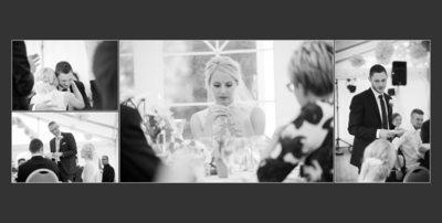 Bryllupsfotograf - et stille øjeblik