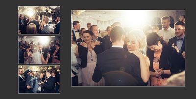 Bryllupsfotograf - valsen danses