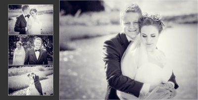 Bryllupsfotograf kærlighed ved vandet