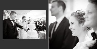 Bryllupsfotograf billeder sort hvid