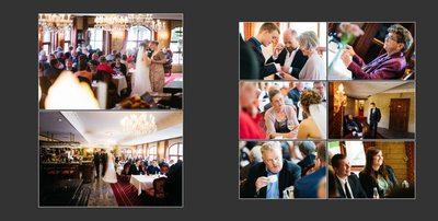 Bryllupsfotograf collage