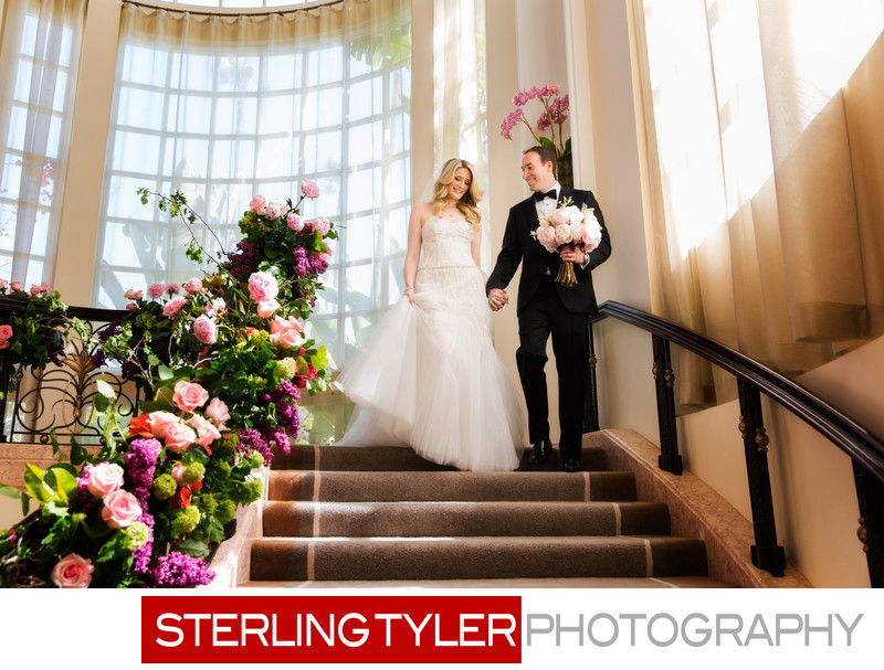 beverly hills hotel wedding photography