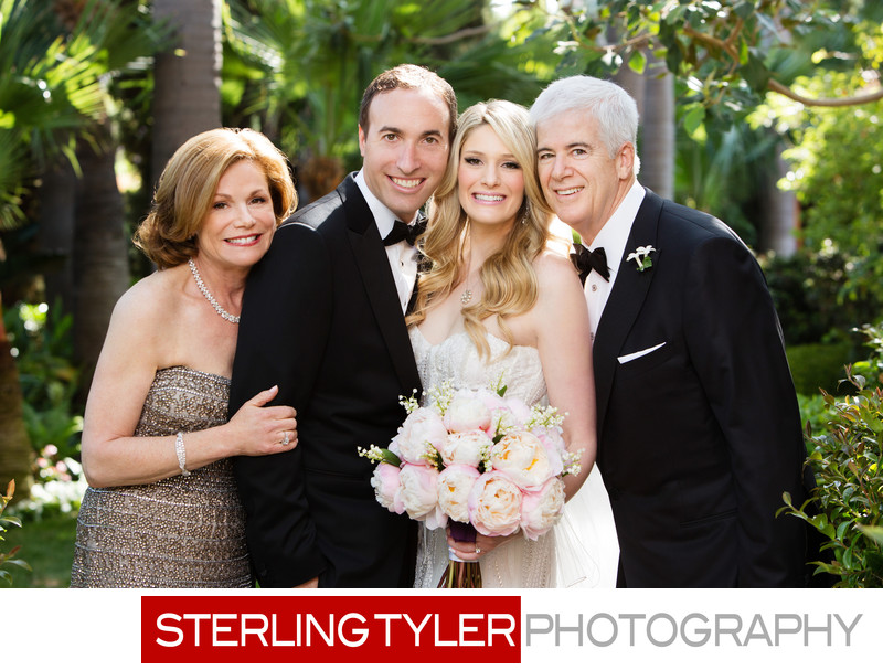 beverly hills wedding family portrait photographer