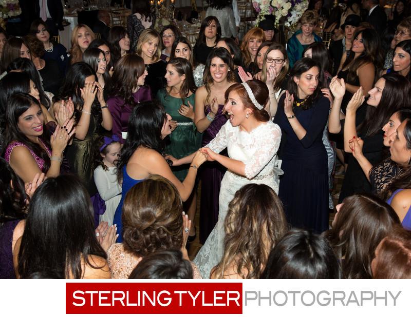 jewish bride dancing photograph sheraton universal