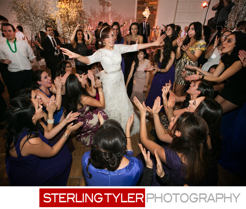 jewish bride dancing at wedding sheraton universal