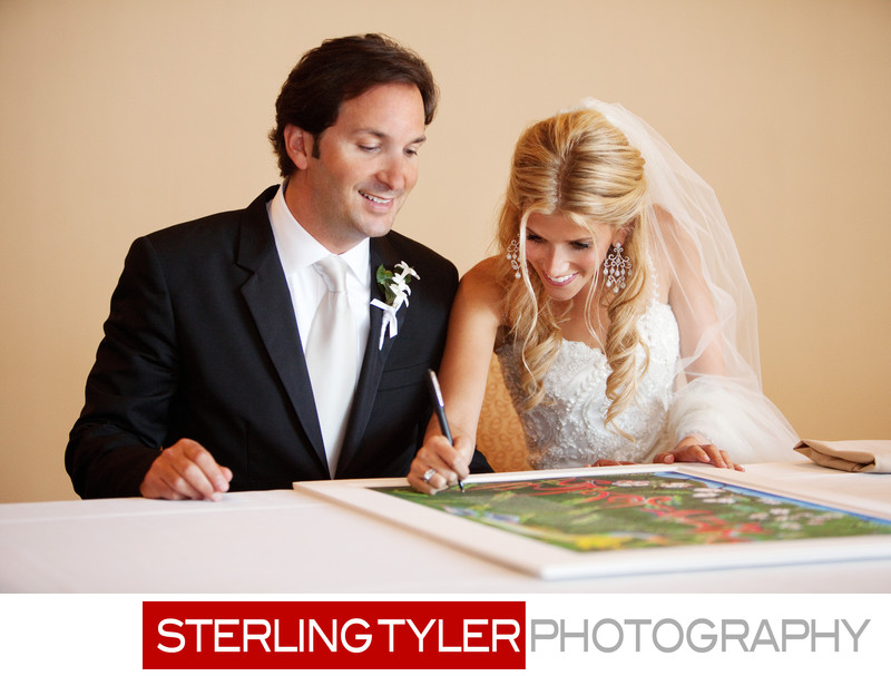 jewish wedding ketubah signing los angeles photographer