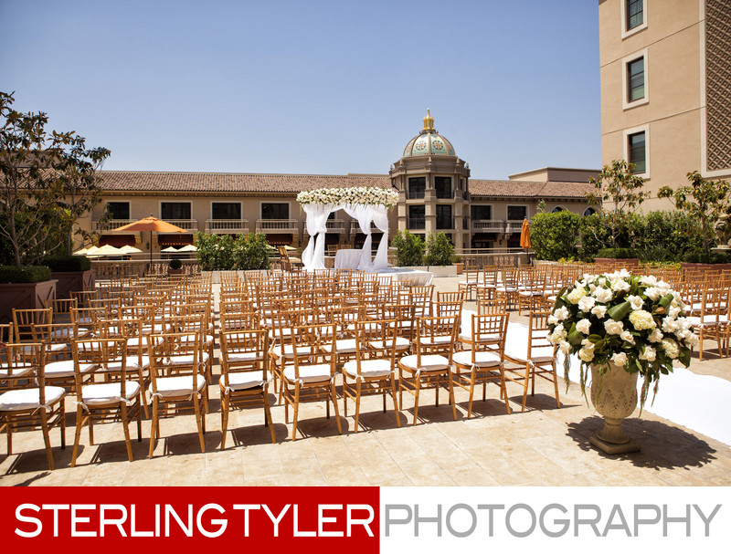 montage beverly hills jewish wedding ceremony chuppa