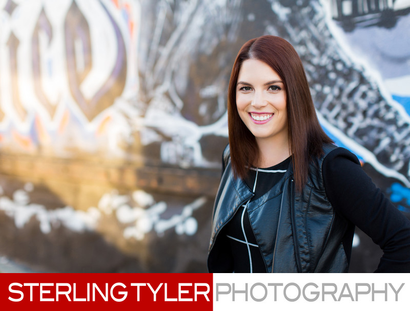 venice beach graffiti headshot portrait photographer