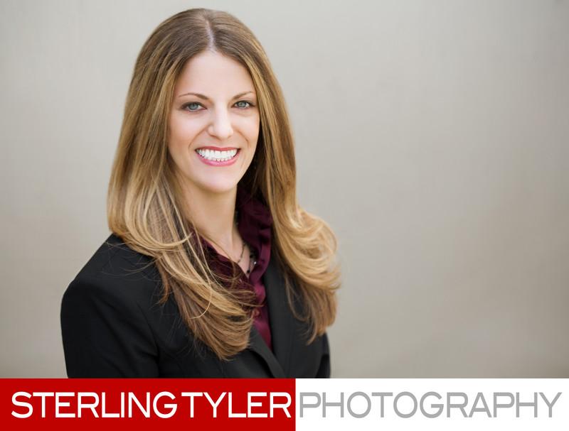 downtown los angeles female executive portrait