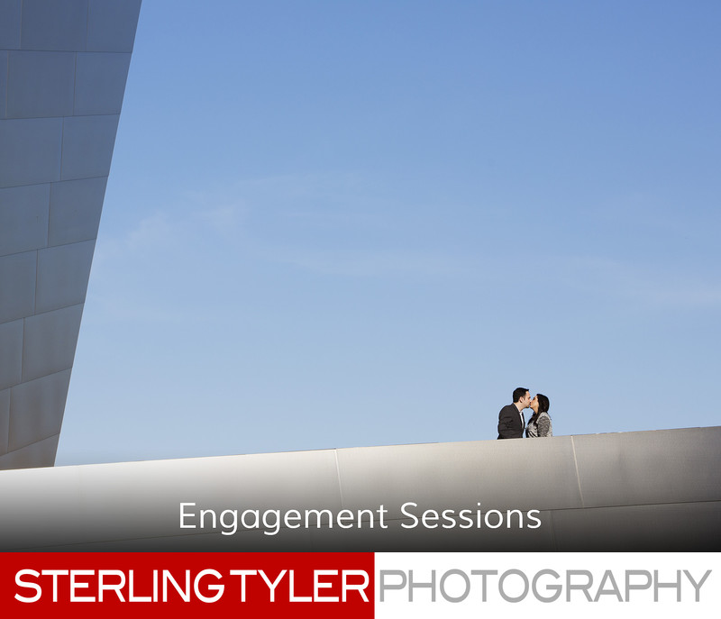disney hall engagement photographer los angeles