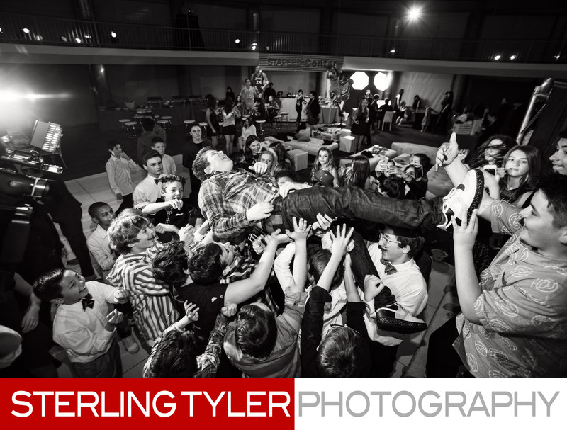 bar mitzvah crowdsurfing check one 2 entertainment