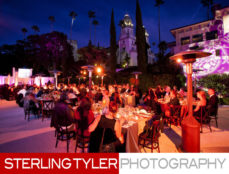 Corporate Dinner Party at Hearst Castle San Simeon