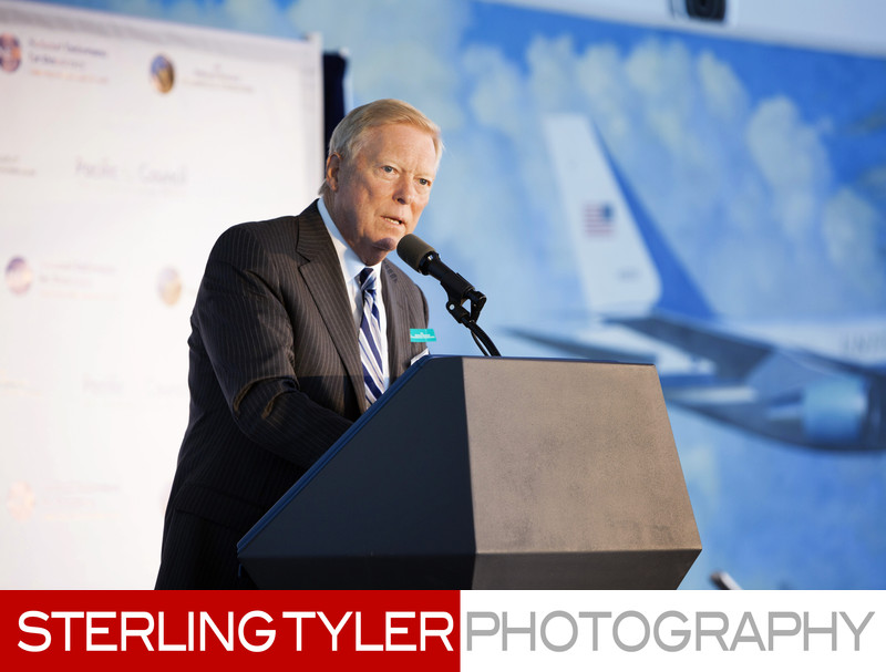 Richard Gephardt at NED Event Reagan Library in Simi Valley CA