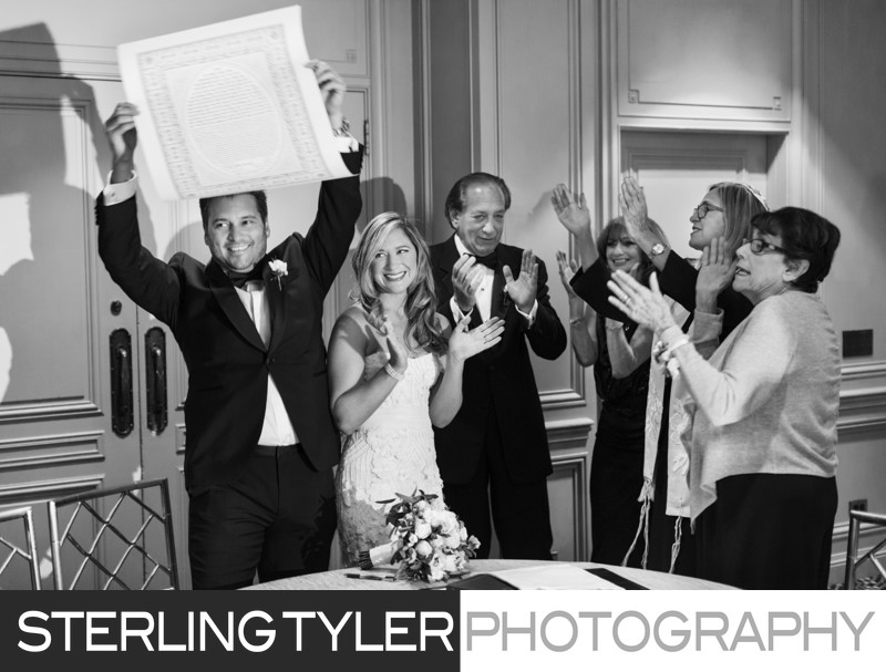 jewish wedding ketubah photography los angeles photographer