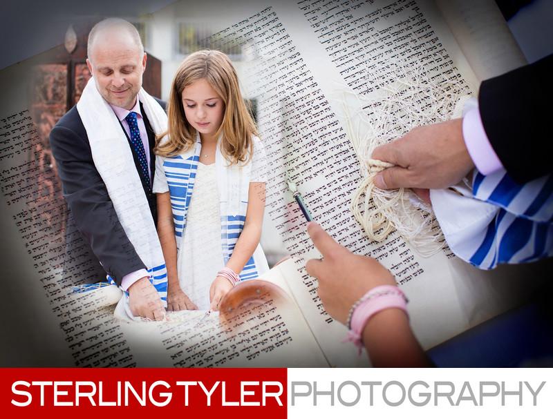 father daughter portrait bat mitzvah los angeles photographer